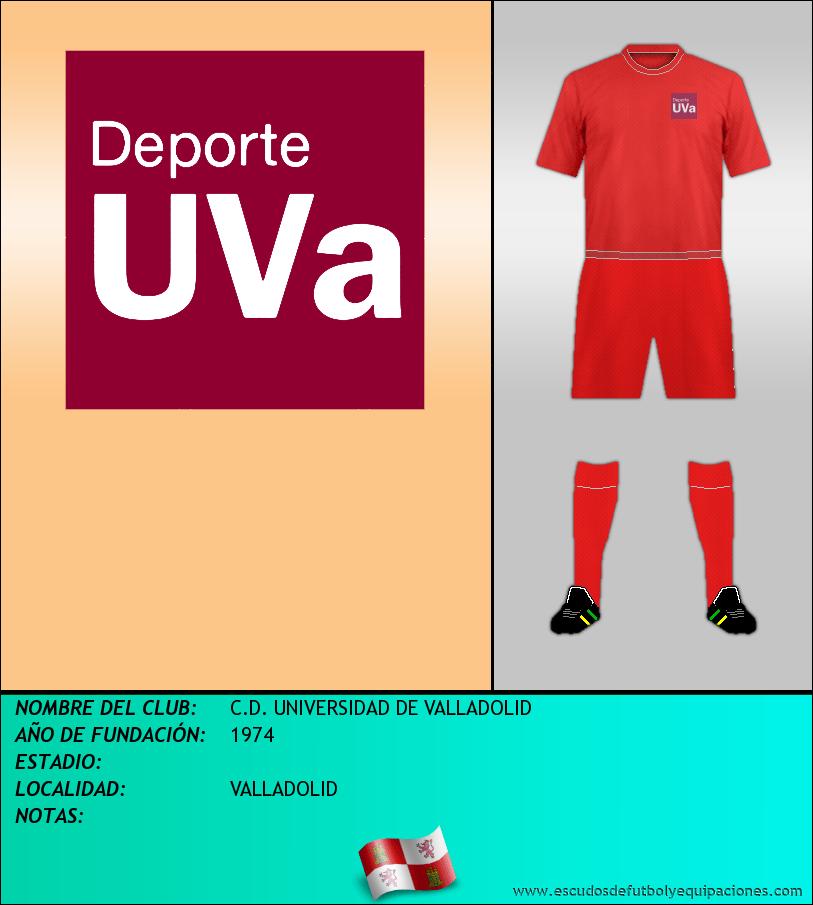Escudo de C.D. UNIVERSIDAD DE VALLADOLID