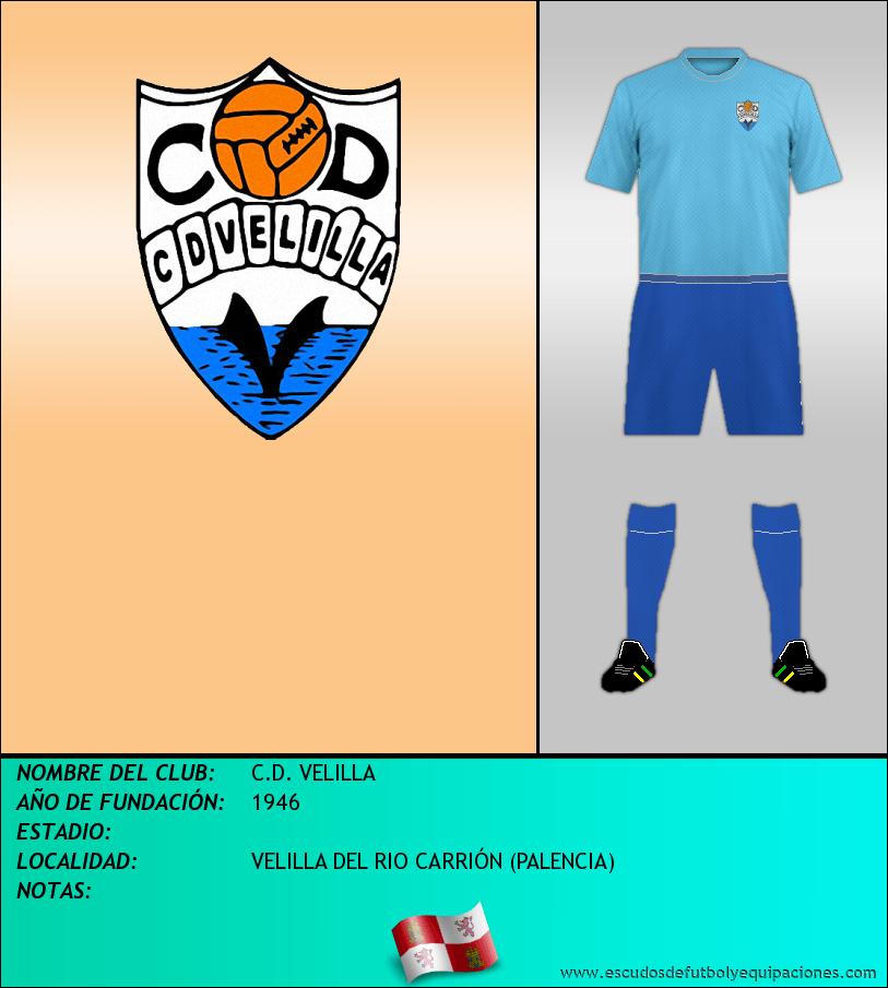 Escudo de C.D. VELILLA