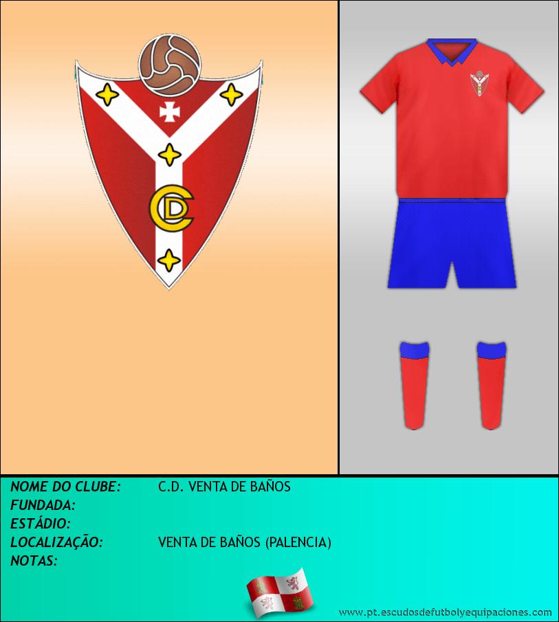 Escudo de C.D. VENTA DE BAÑOS