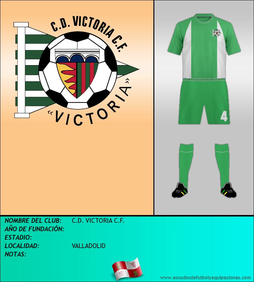 Escudo de C.D. VICTORIA C.F.