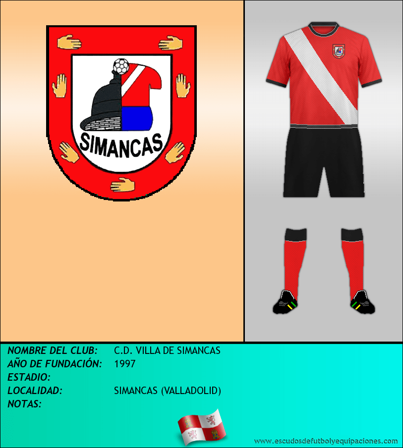 Escudo de C.D. VILLA DE SIMANCAS