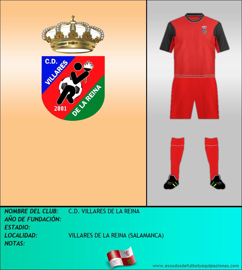Escudo de C.D. VILLARES DE LA REINA