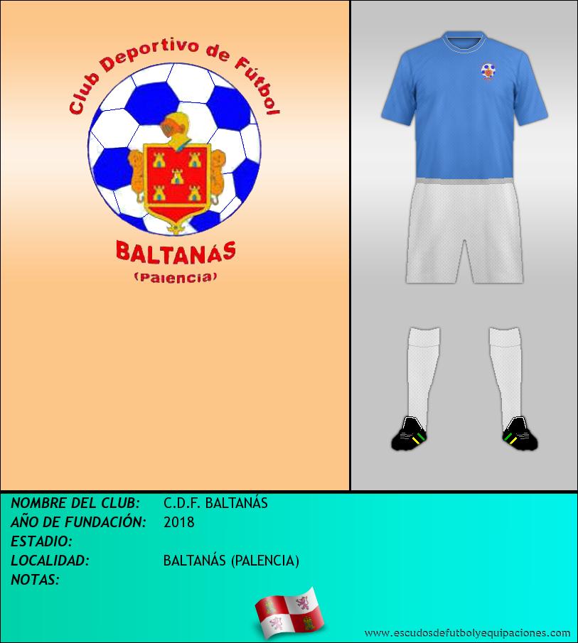 Escudo de C.D.F. BALTANÁS