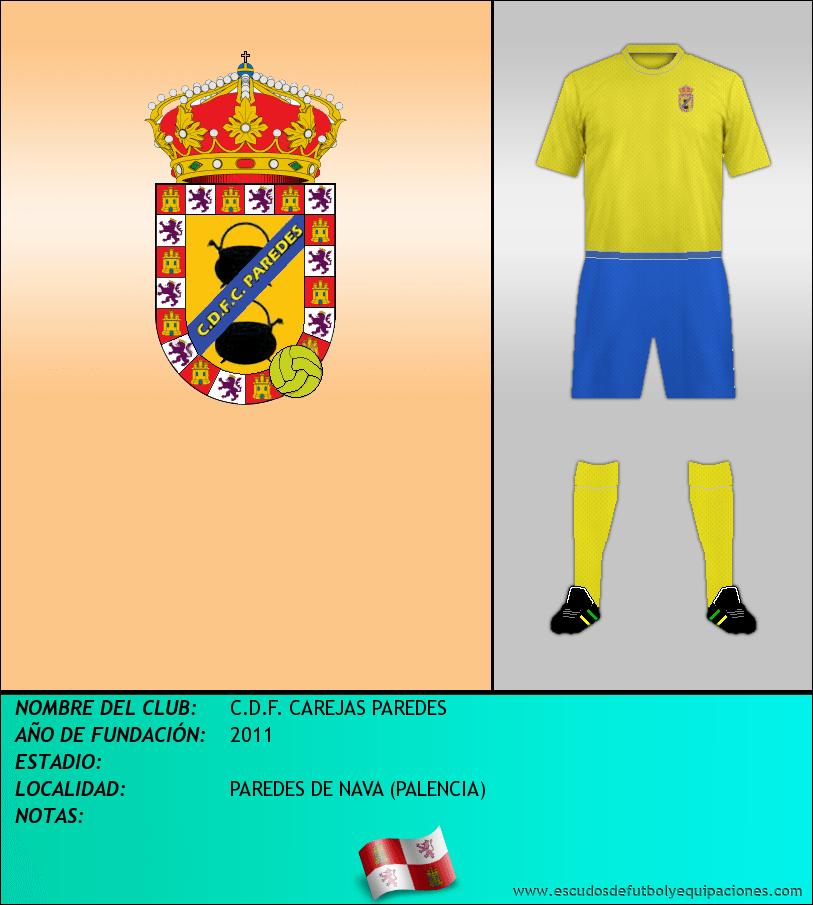 Escudo de C.D.F. CAREJAS PAREDES