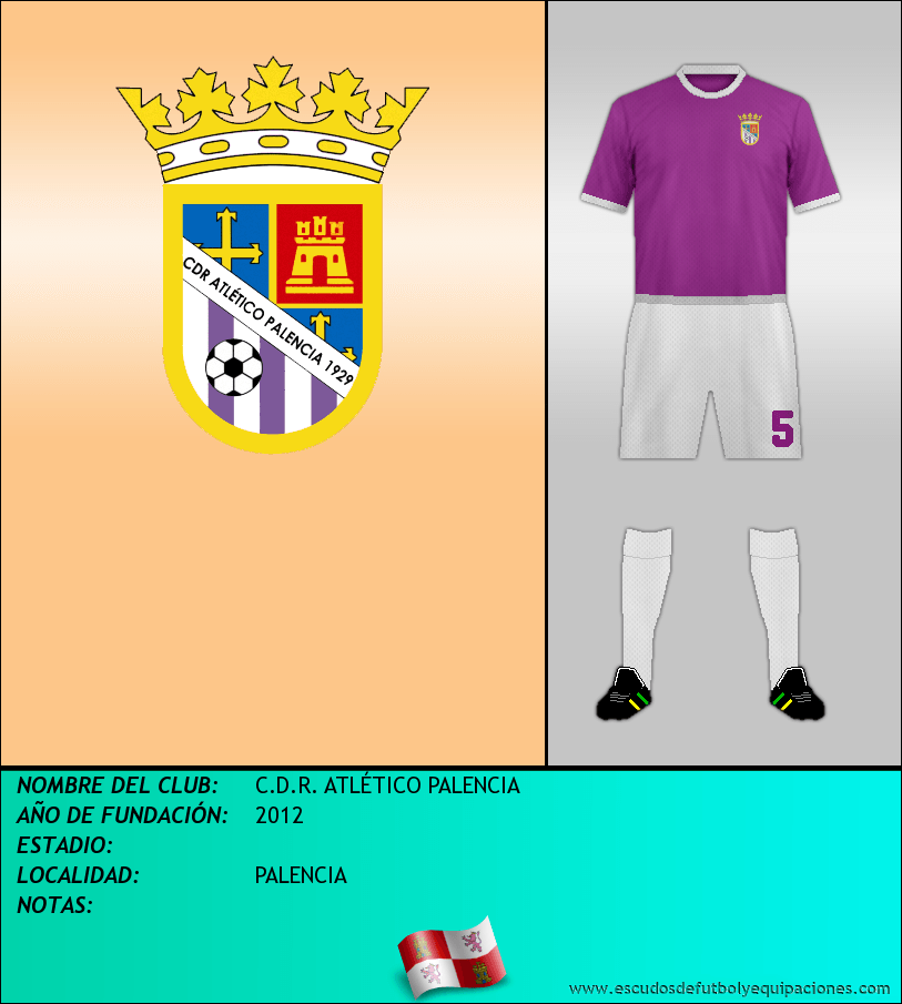 Escudo de C.D.R. ATLÉTICO PALENCIA