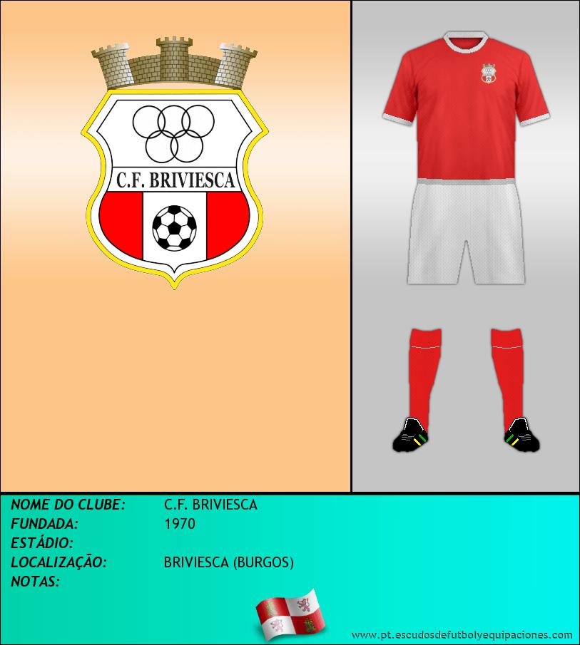 Escudo de C.F. BRIVIESCA