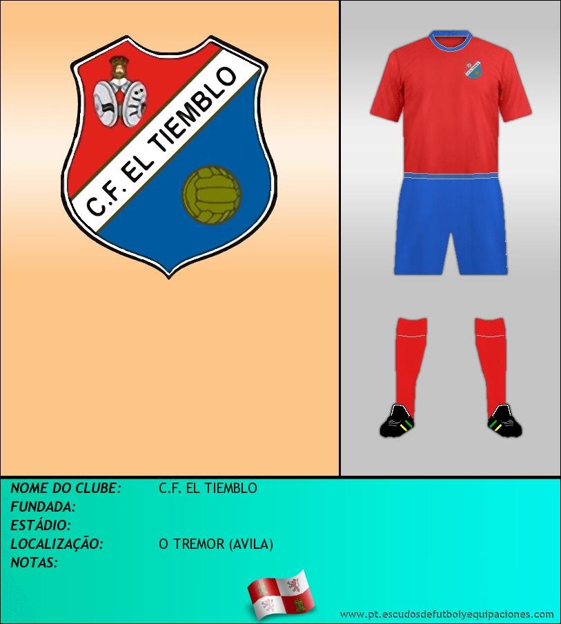 Escudo de C.F. EL TIEMBLO