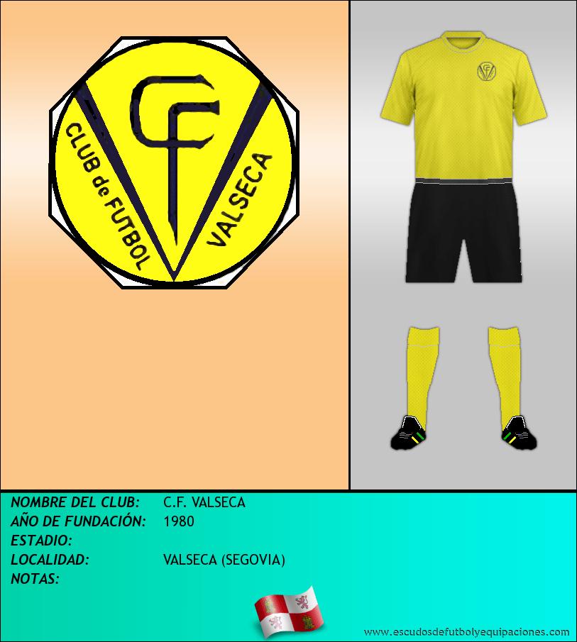 Escudo de C.F. VALSECA