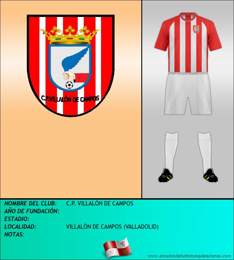 Escudo de C.P. VILLALÓN DE CAMPOS