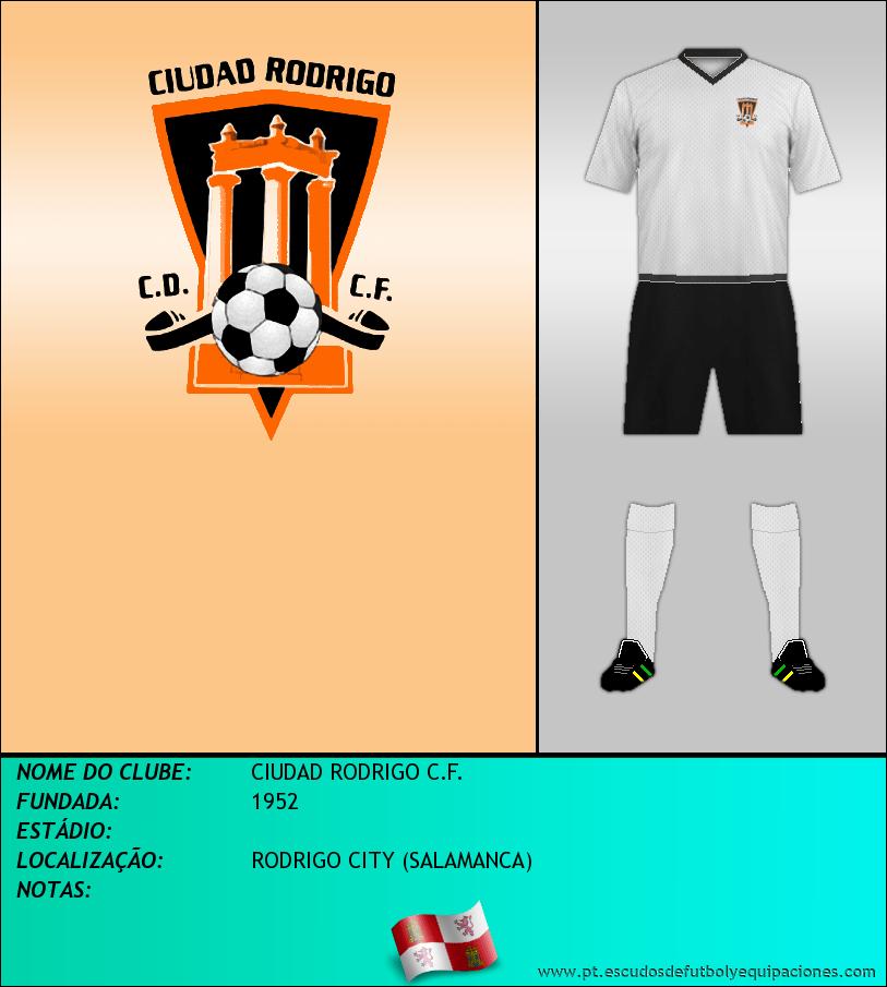 Escudo de CIUDAD RODRIGO C.F.