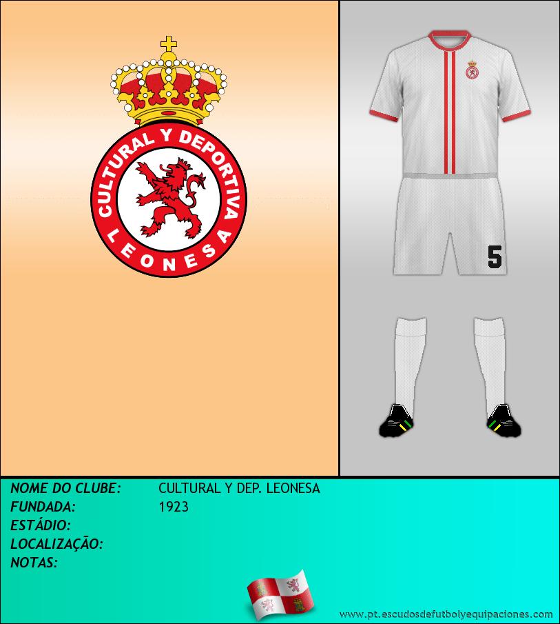 Escudo de CULTURAL Y DEP. LEONESA