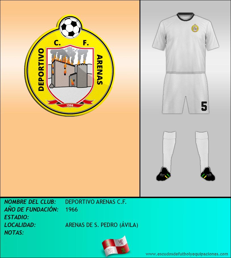 Escudo de DEPORTIVO ARENAS C.F.