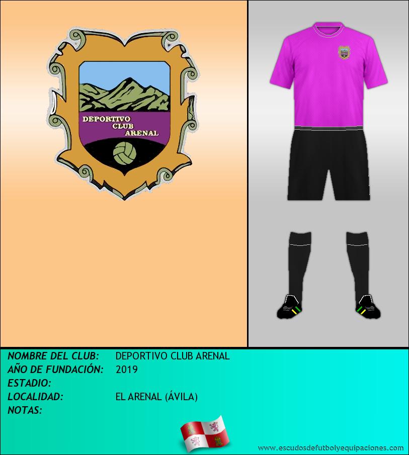 Escudo de DEPORTIVO CLUB ARENAL
