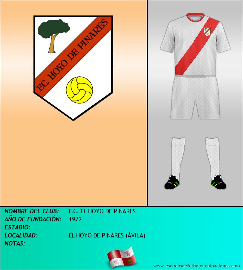 Escudo de F.C. EL HOYO DE PINARES