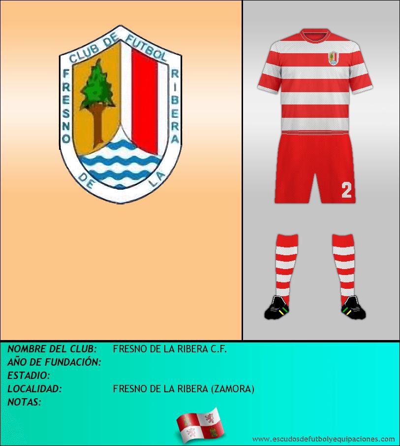 Escudo de FRESNO DE LA RIBERA C.F.