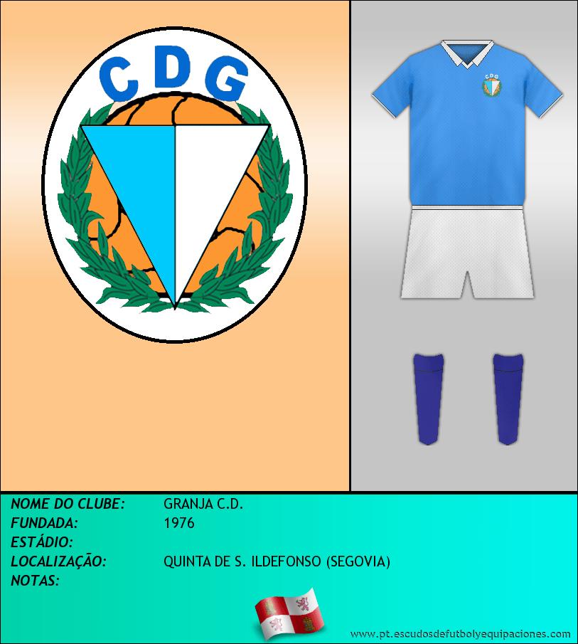 Escudo de GRANJA C.D.