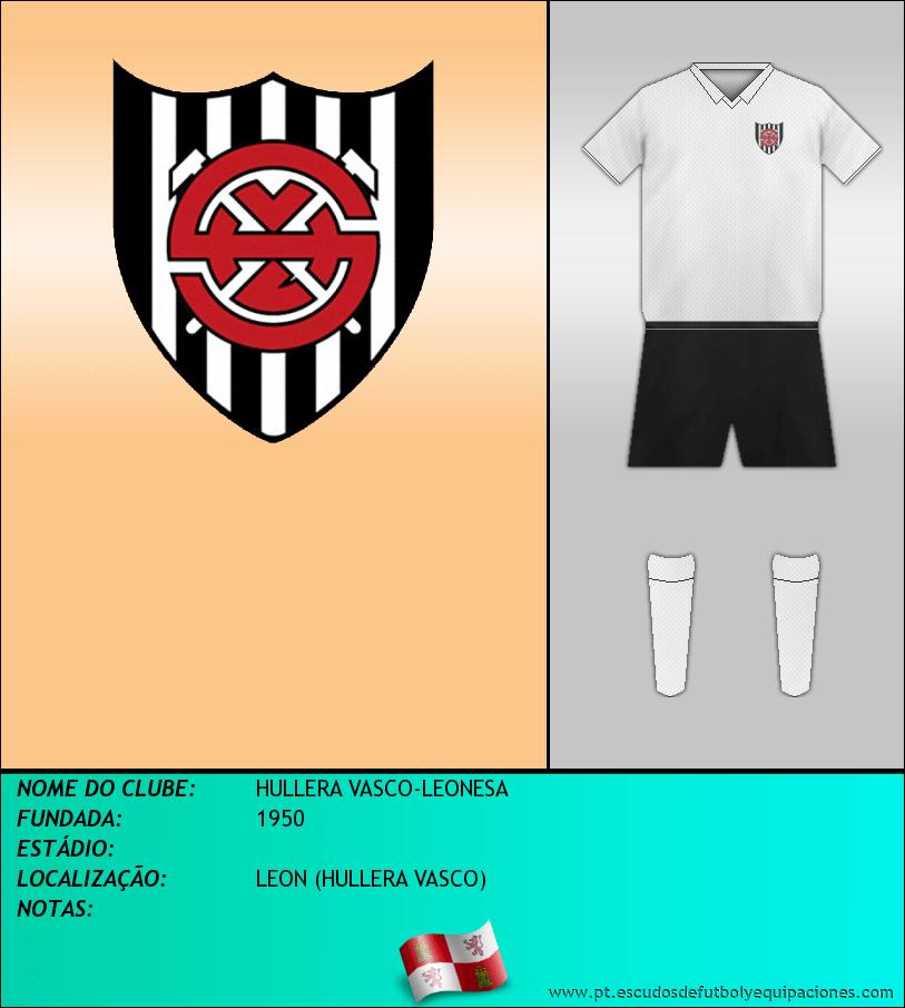Escudo de HULLERA VASCO-LEONESA