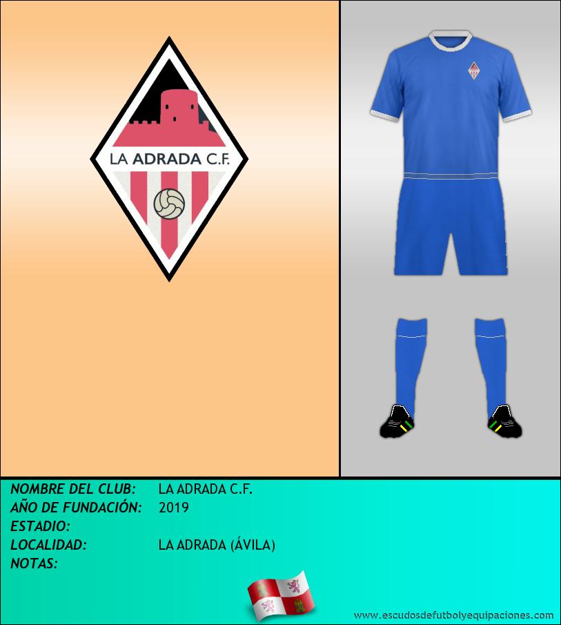 Escudo de LA ADRADA C.F.