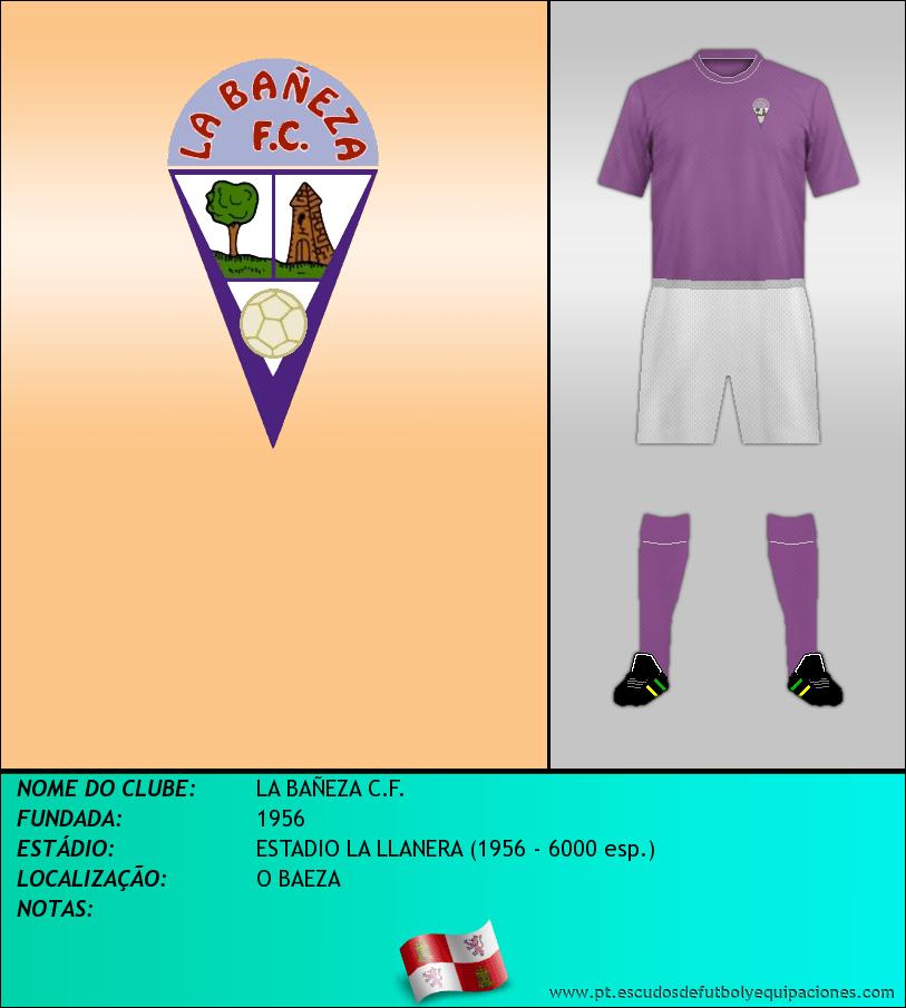 Escudo de LA BAÑEZA C.F.