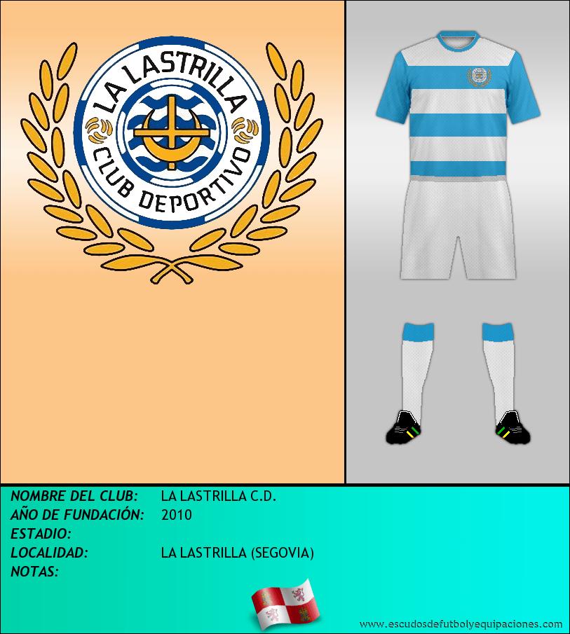 Escudo de LA LASTRILLA C.D.