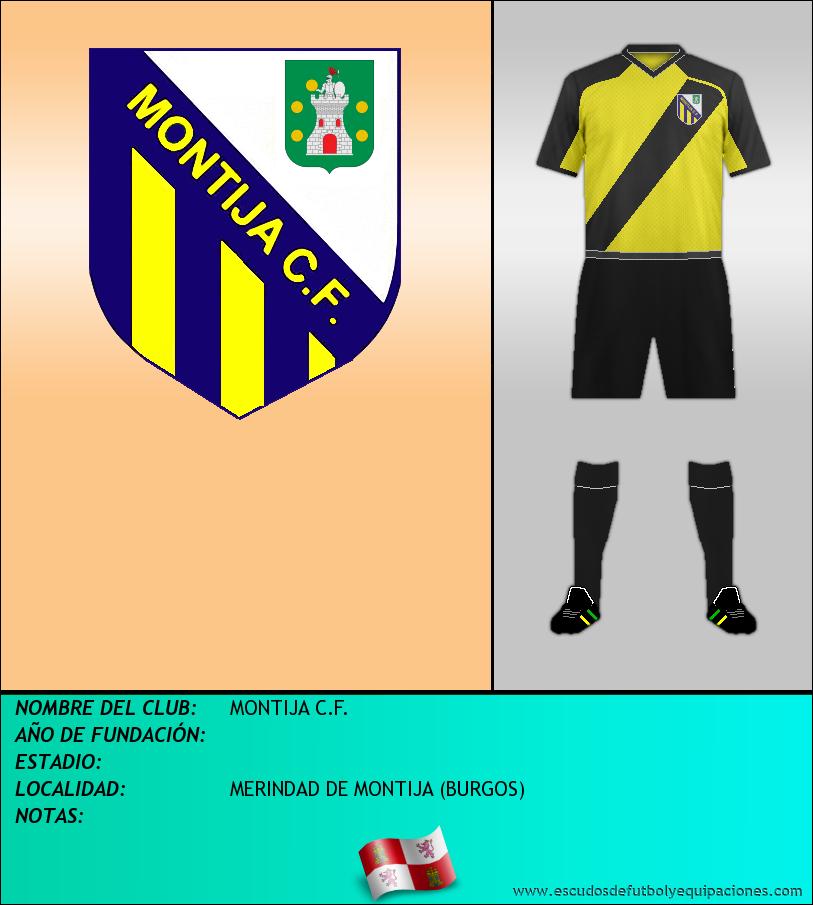 Escudo de MONTIJA C.F.