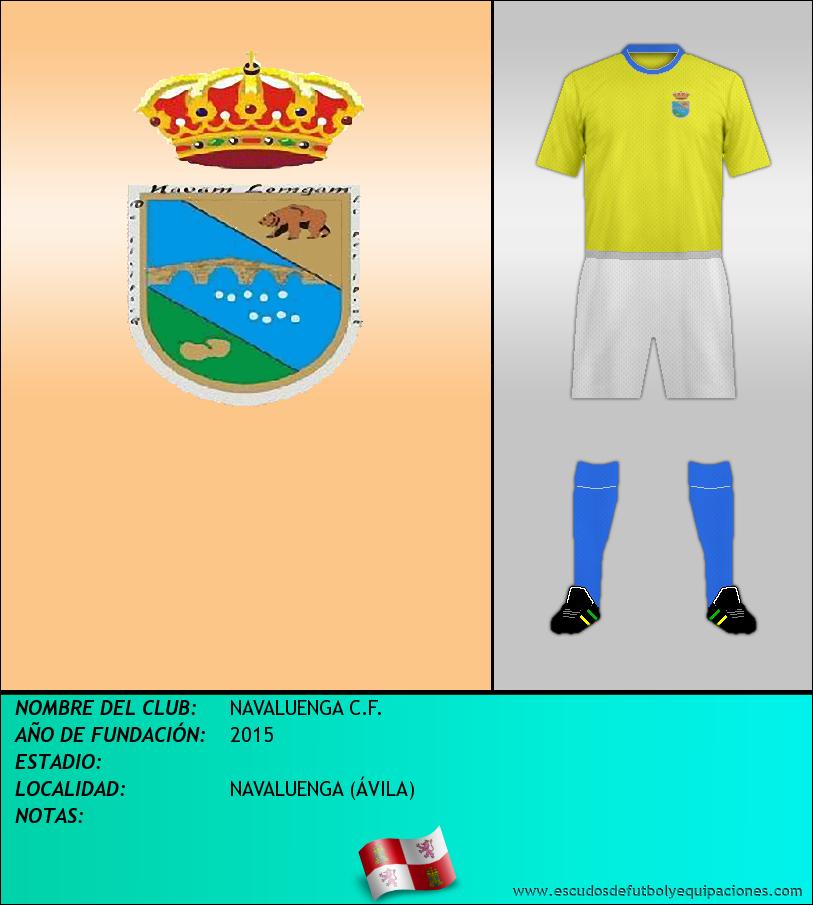 Escudo de NAVALUENGA C.F.