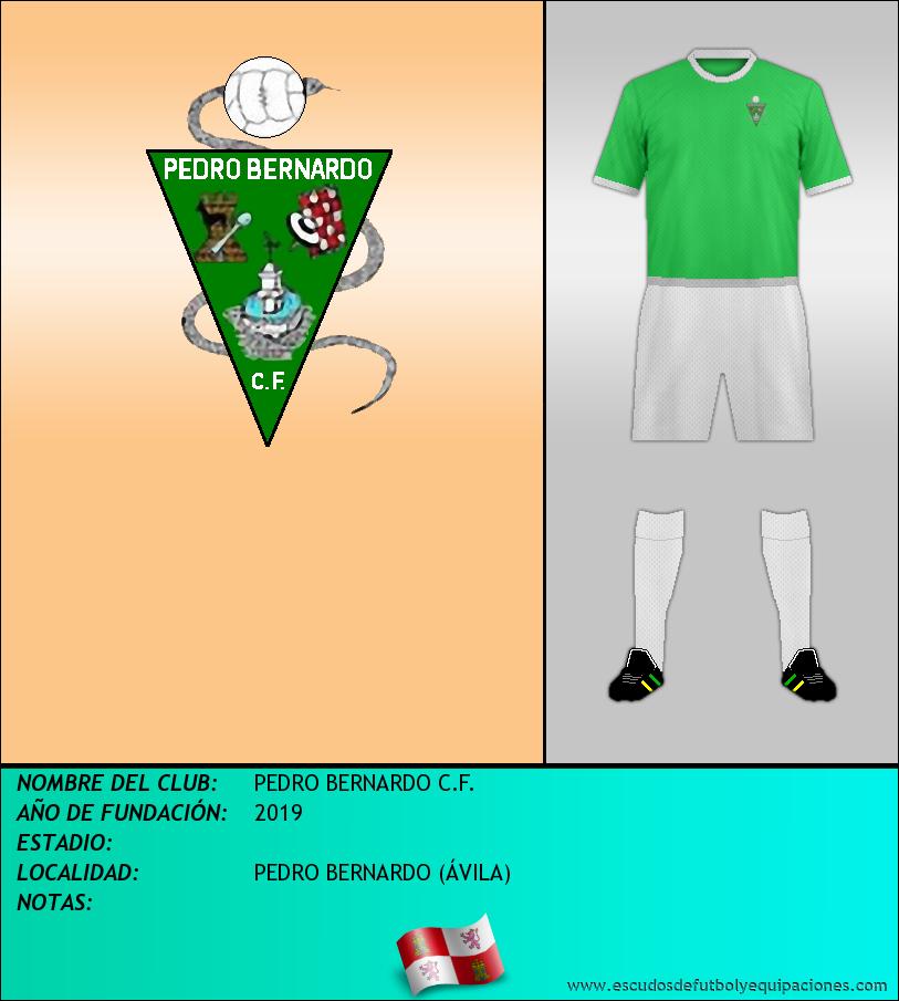 Escudo de PEDRO BERNARDO C.F.
