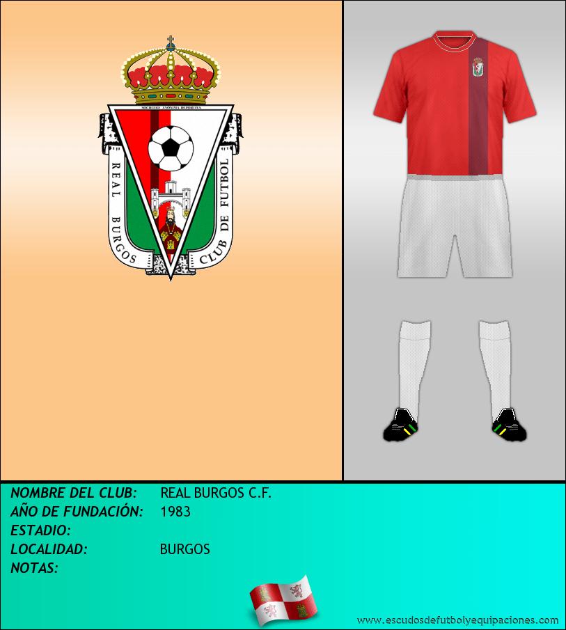 Escudo de REAL BURGOS C.F.