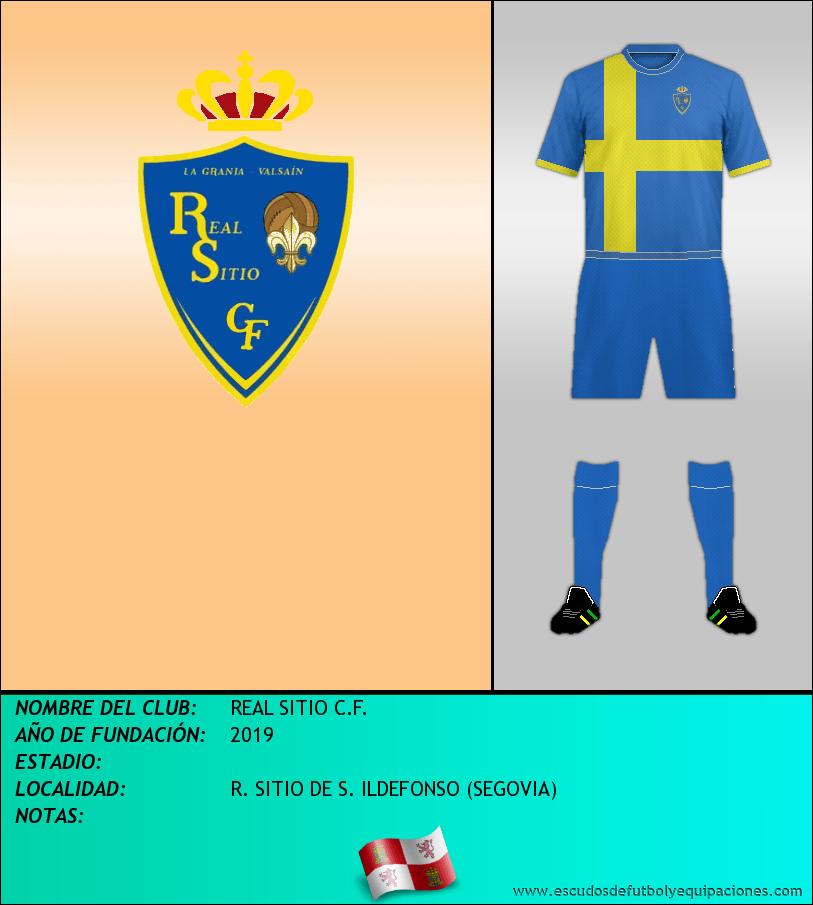 Escudo de REAL SITIO C.F.