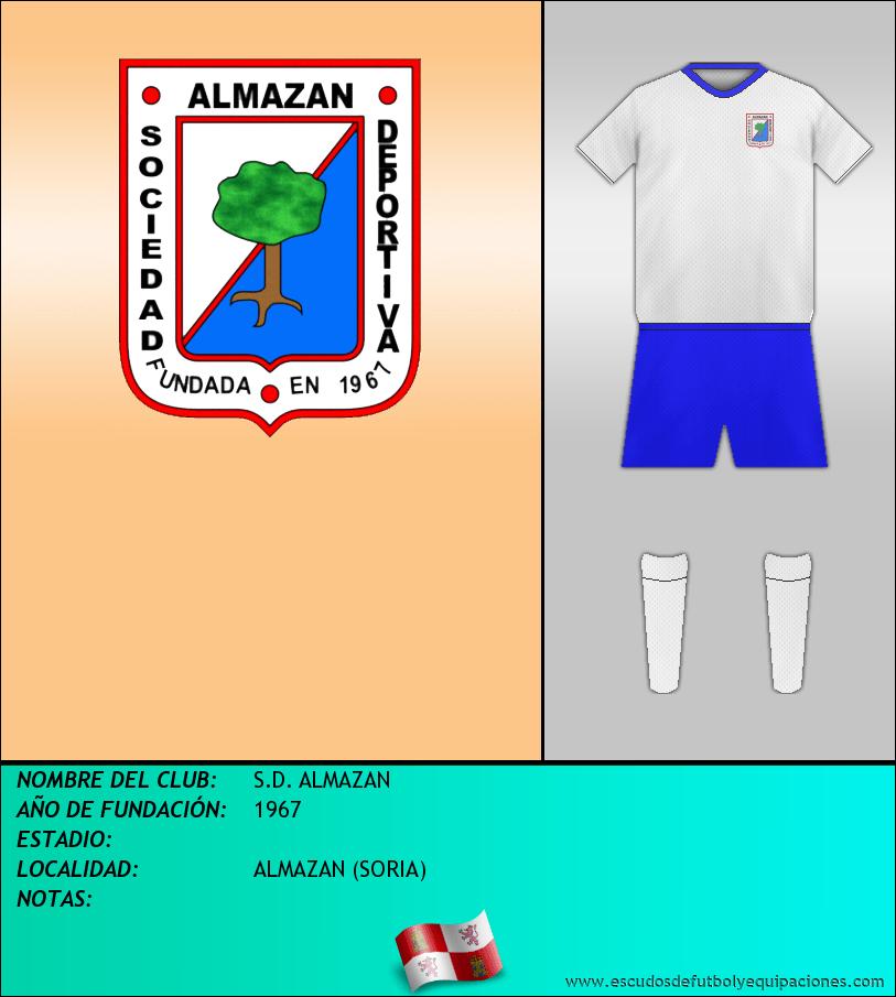 Escudo de S.D. ALMAZAN