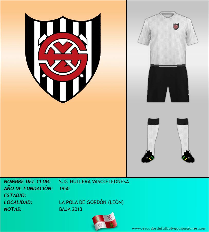 Escudo de S.D. HULLERA VASCO-LEONESA