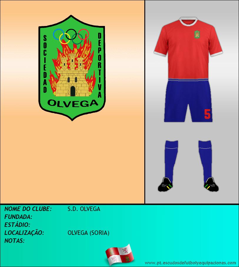Escudo de S.D. OLVEGA