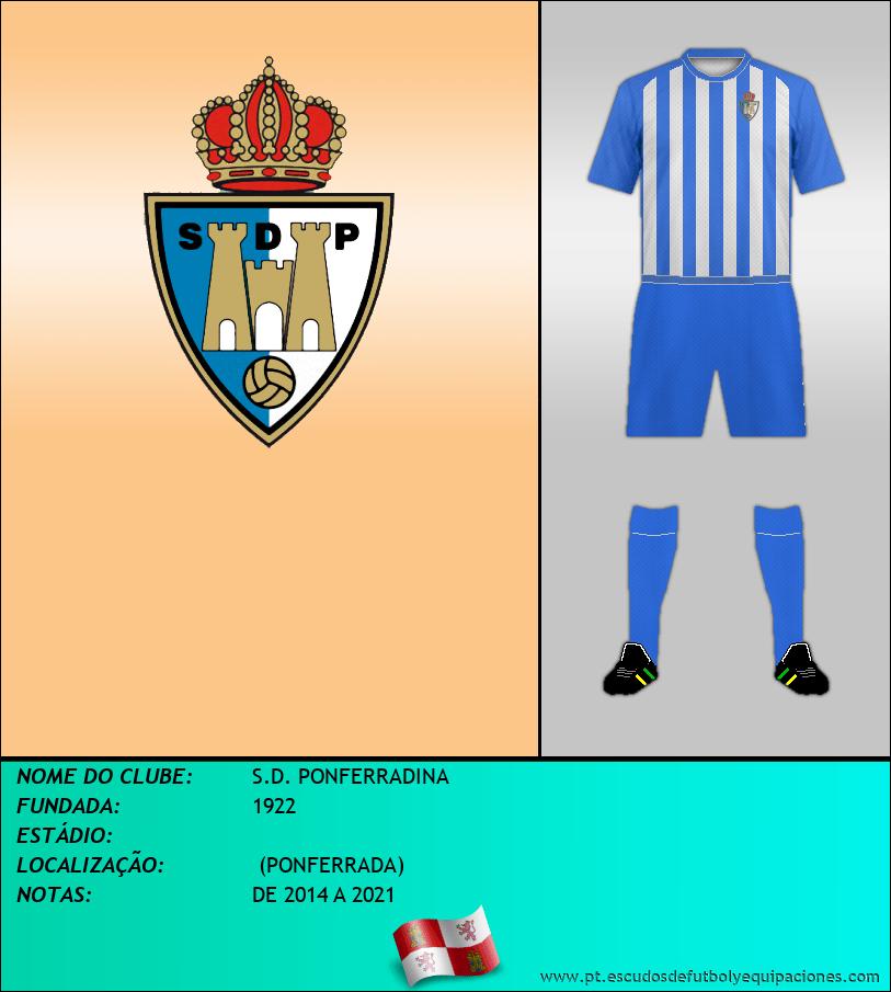 Escudo de S.D. PONFERRADINA