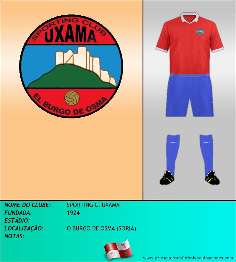 Escudo de SPORTING C. UXAMA