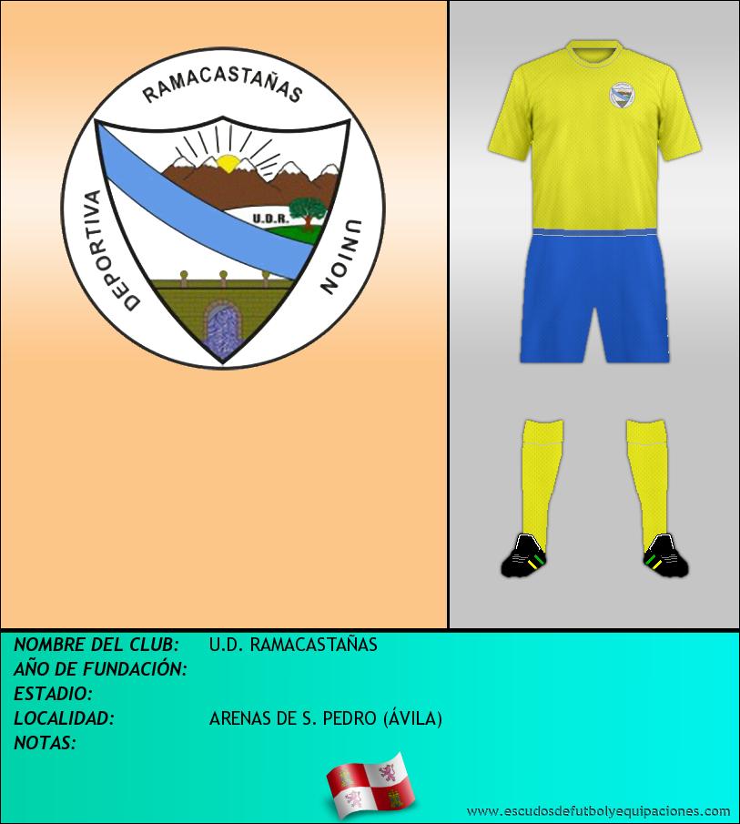 Escudo de U.D. RAMACASTAÑAS