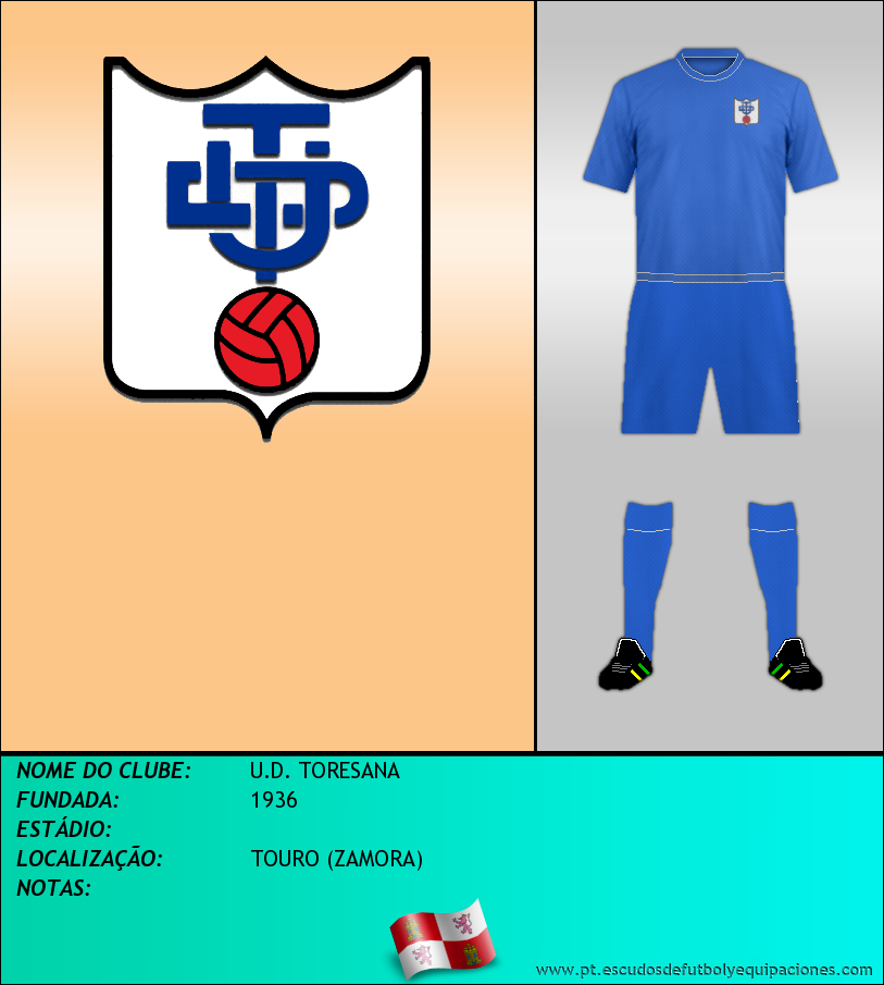 Escudo de U.D. TORESANA