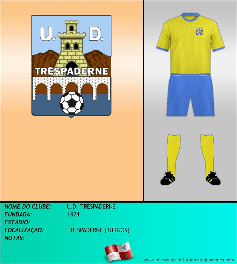 Escudo de U.D. TRESPADERNE