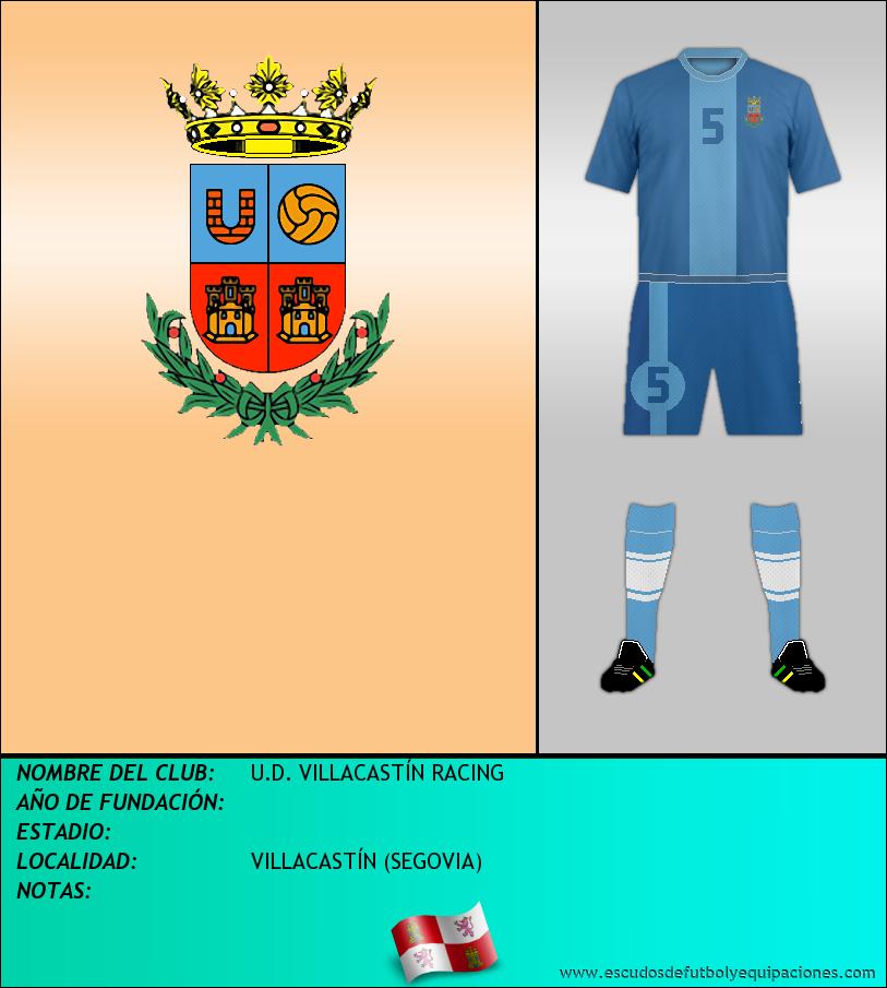 Escudo de U.D. VILLACASTÍN RACING