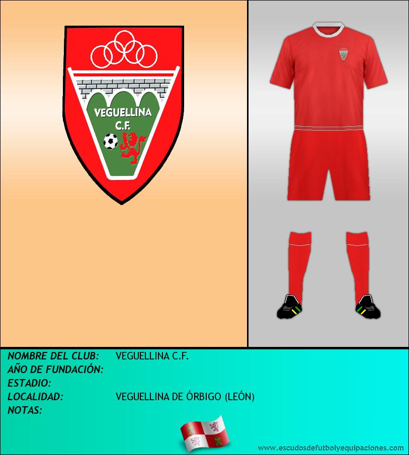 Escudo de VEGUELLINA C.F.