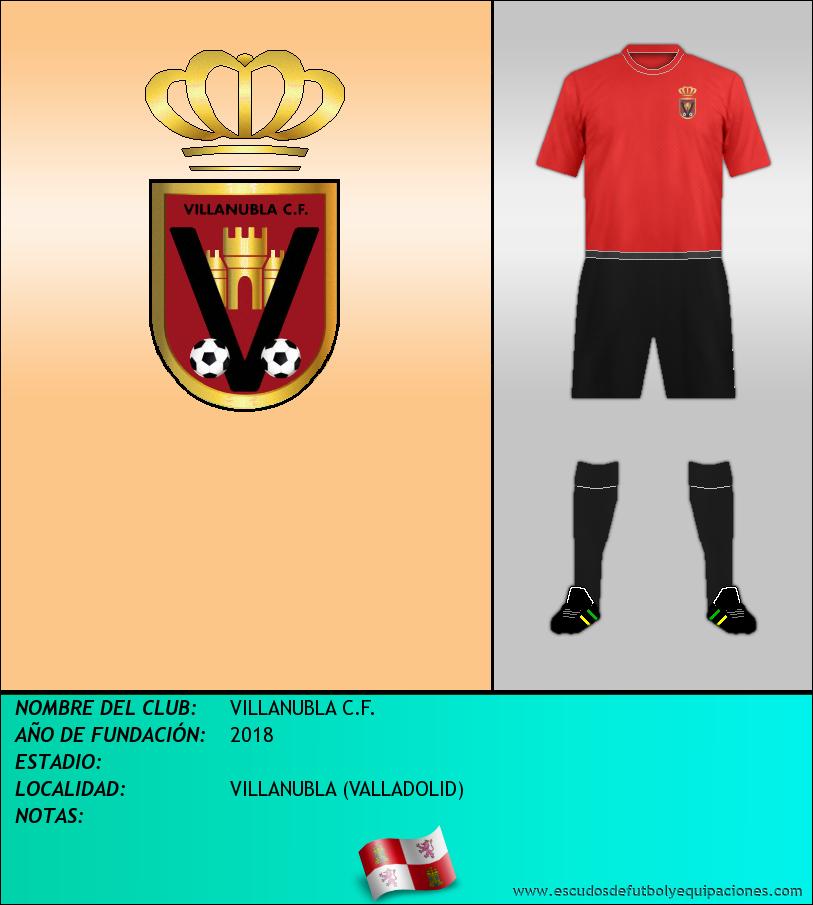 Escudo de VILLANUBLA C.F.