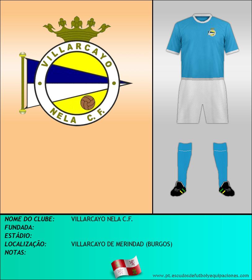 Escudo de VILLARCAYO NELA C.F.