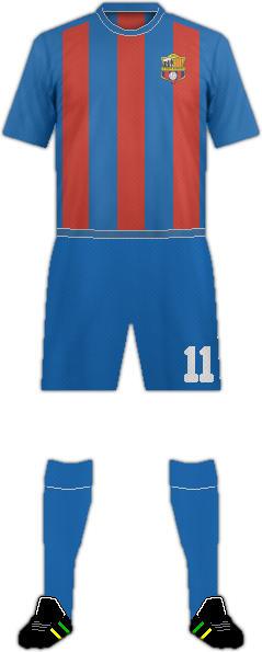 Camiseta C.F. SANTA BÁRBARA
