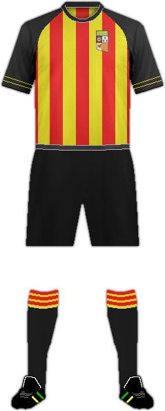 Equipación F.C. CALLDETENES