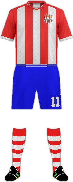 Equipación F.C. CARDEDEU