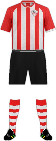 Equipación F.C. LA SELVA DEL CAMP