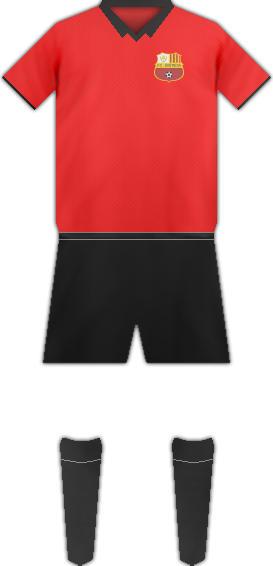 Equipación F.C. SANTBOIA