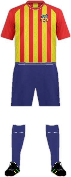 Equipación F.C. VILAFRANCA