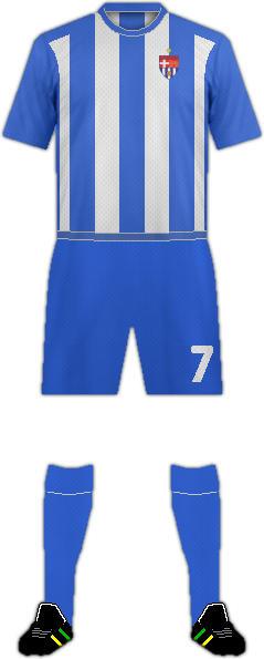 Equipación F.C. VILALBA