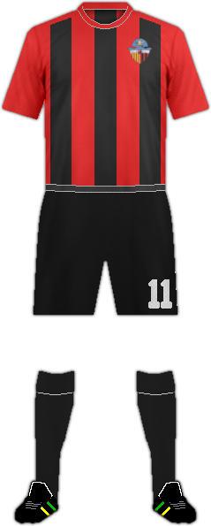 Equipación SANT CUGAT ESPORT FC