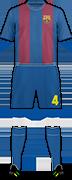 Equipación F.C. BARCELONA